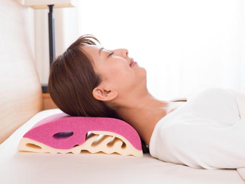 首の解放と寝返りのしやすさの画像